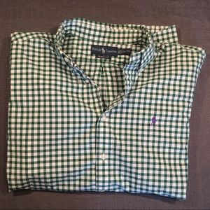 Ralph Lauren Checkered Button Down-XL
